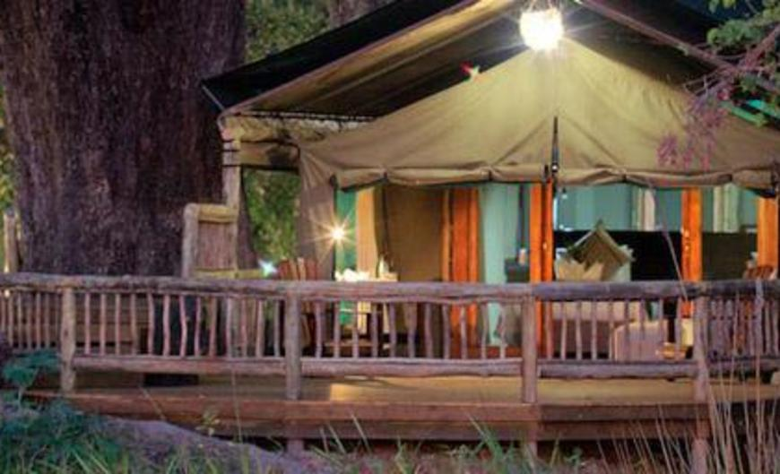 Moremi Crossing Camp Campground